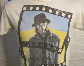 Size L- (41) ** True Vintage 1989 Tom Petty Concert Shirt (Double Sided)