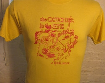 Size M (41) ** J.D. Salinger Catcher in the Rye Shirt (Single Sided)