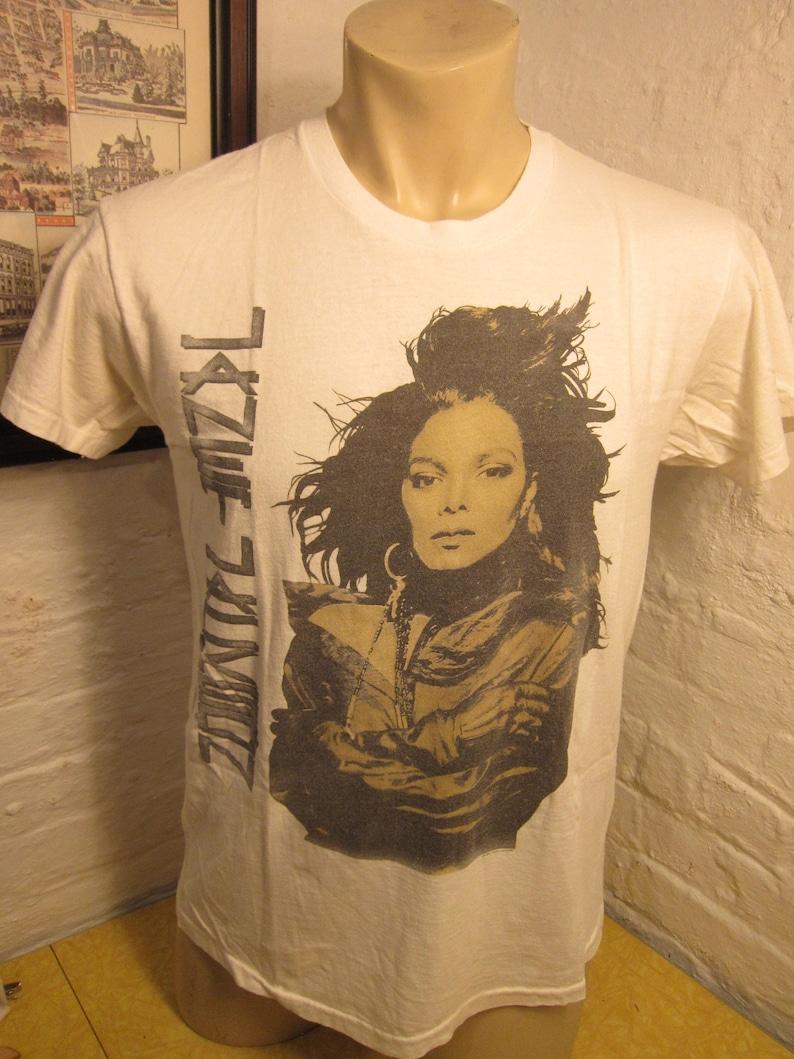 05a0078d7 Size XL 45 Rare 1990 Janet Jackson Rythym Nation Concert   Etsy