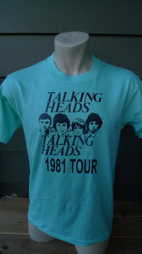 Size M (43) ** Dated 1981 Talking Heads Shirt  (Si