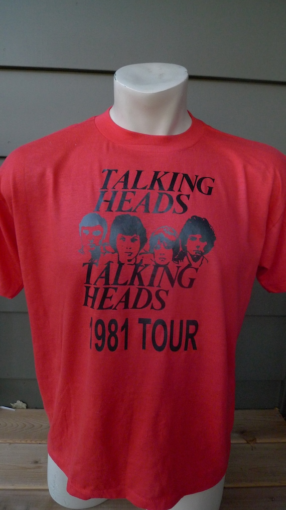 Size L (45) ** Dated 1981 Talking Heads Shirt  (Si