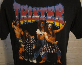 Size XL (47) ** 1991 Trixter Concert Shirt (Double Sided)