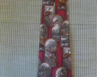 Quail Shooting Tie Clip Bar Slide Tack Mens Game Bird Present Shooter Gift