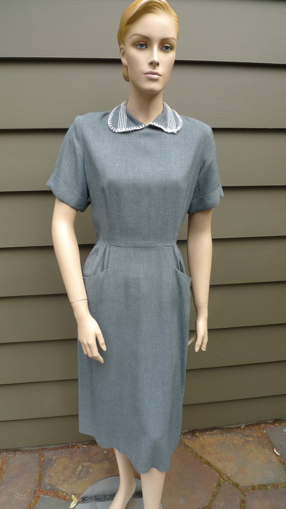 """Bust: up to 36"""" ** Wonderful Late 1940s - Early 19"""