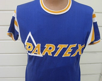 Size XL (46) ** Cool Partex 1940s-50s Rayon Athletic Jersey