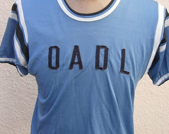 Size L (46) ** Incredible 1940s-50s Rayon Athletic Jersey