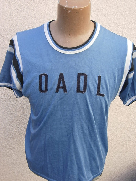 Size L (46) ** Incredible 1940s-50s Rayon Athletic