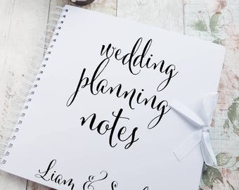 Wedding Planning Book Etsy