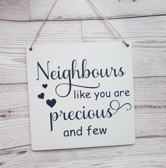 Nachbar Geschenk Geschenk Fur Nachbarn Ziehen Weg Geschenk Etsy