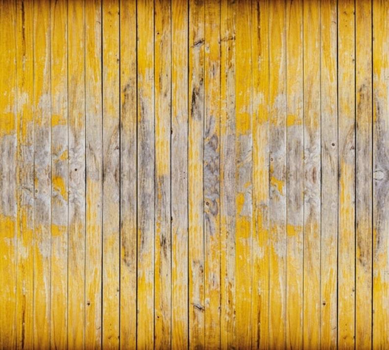 Ocre De Planches Papier Faux Bois Peint Peinture Murale 6 Etsy