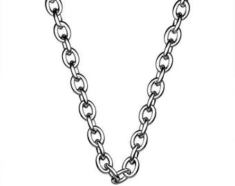"""16"""" 925 Sliver Chain with findings."""