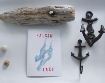 Balsam Lake card