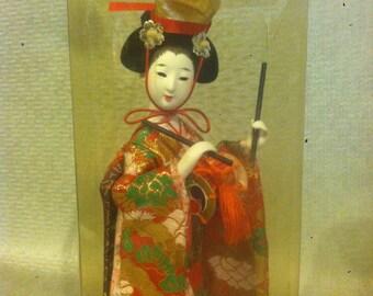 Vintage Souvenir Japanese Geisha Girl