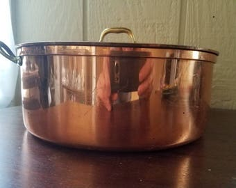 Tagus Copper coated Sauce pot