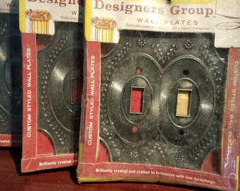 Double switch cover wall plates