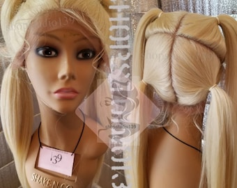 Blonde Human Hair Wigs Etsy