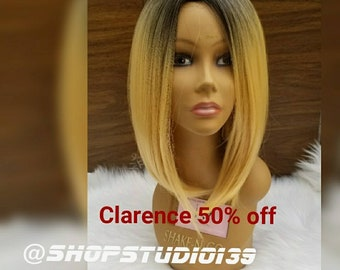 Blonde ombre bob wig on sale now