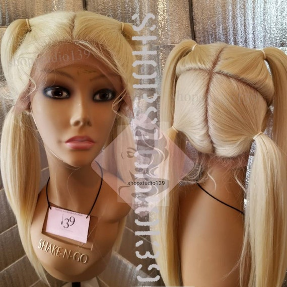 Sky Beautiful blonde human hair lace front wig with multiple  0a4a0125f