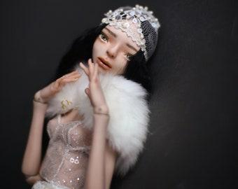 Pure Soul Porcelain OOAK BJD Doll Odette