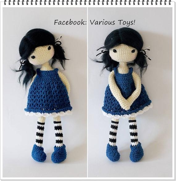 Gurjuss Amigurumi muñeca de Crochet Gurjuss crochet muñecas   Etsy