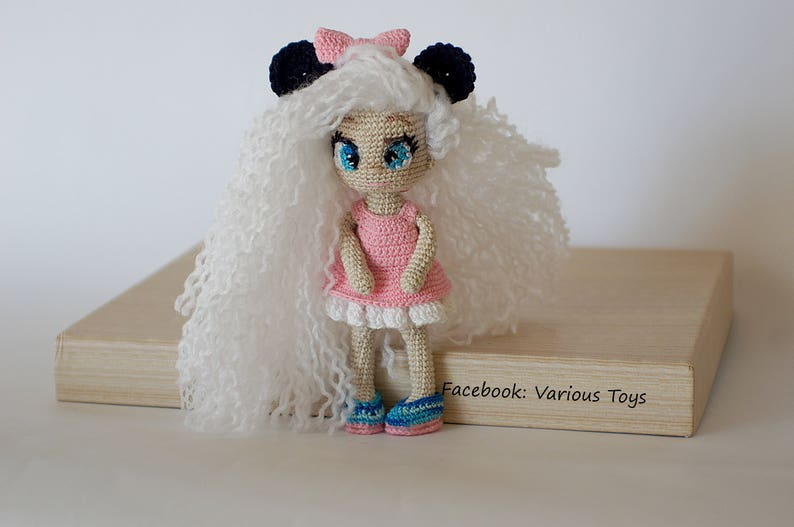 Crochet Miniature Mouse Dolls Amigurumi Dolls Crochet Doll Etsy