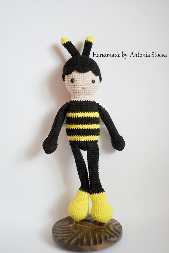Die Biene Maja Häkeln Amigurumi Biene Amigurumi Biene Häkeln Etsy