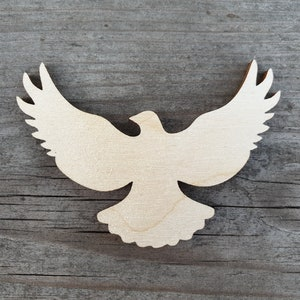 Laser Cut Large Songbird Wood Cut Out