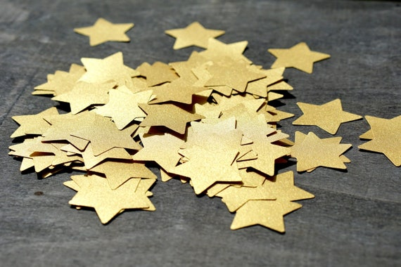 One of a Kind Twinkle Starpeekers Unique Paperclay Hanging Star Sculpture