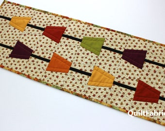 Rain Chains, Table Runner, Placemats, PDF Instant Download Quilt Pattern, Easy Beginner, Modern Quilt