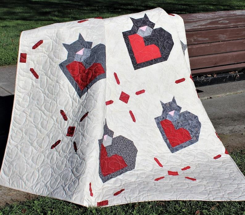 Wrap Up Some Love Quilt pattern PDF download modern patchwork image 0