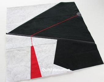 Grad Cap Quilt Block, Graduation Gift, School Quilt Block, Instant PDF Pattern Download