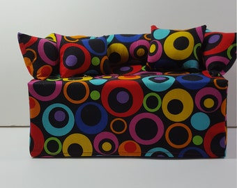 Hand-made Circle Couch/Sofa Tissue Box Cover