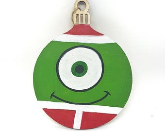 Hand-painted Christmas Bauble - Mike