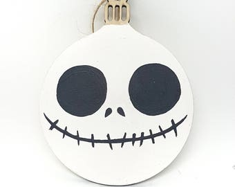 Hand-painted Christmas Bauble - Jack