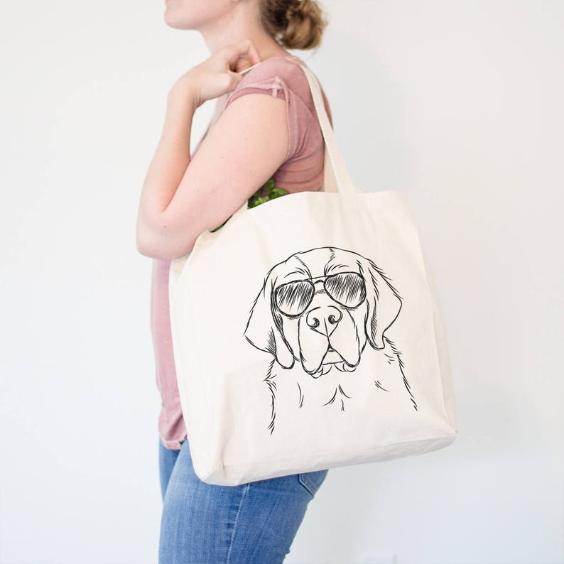 Mattis the German Shorthair Canvas Tote Bag USA USA Dog Tote Dog Lover Gift Doggy Bag German Shorthaired Pointer