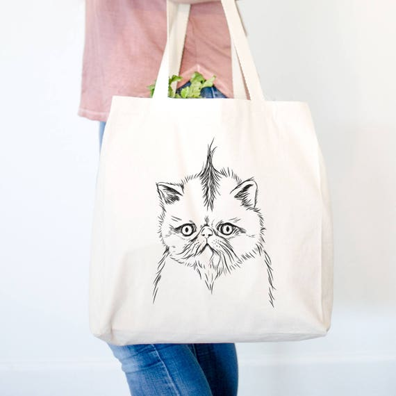 Cat Canvas Tote Bag Cats are People Too