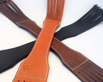 Leather Duck Strap Etsy