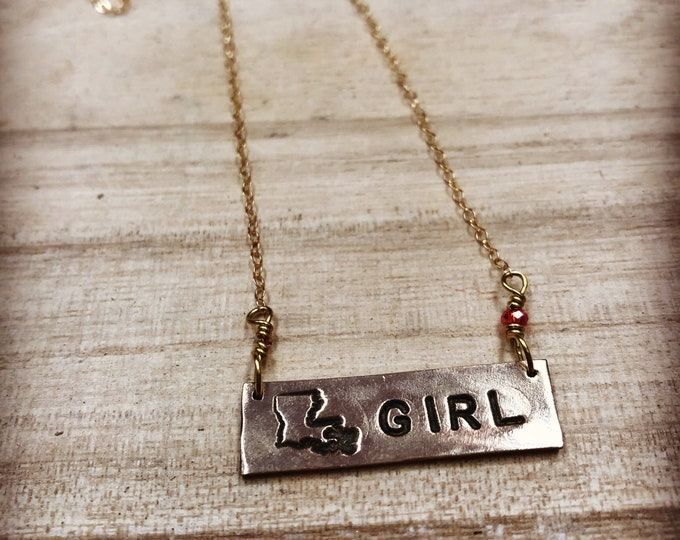 Louisiana Girl Necklace