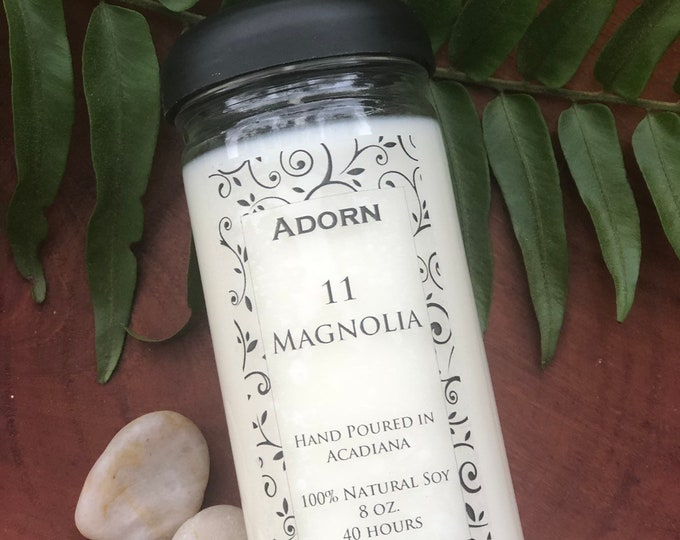 100% Soy Magnolia Candle