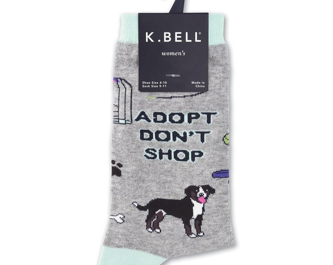 Adopt Don't Shop Socks