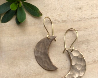 To the Moon Earrings