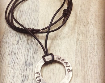 Circle of Names Necklace
