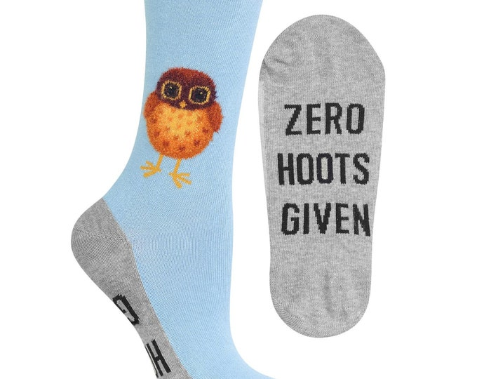 Zero Hoots Given Socks
