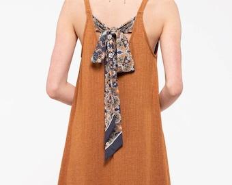 Back Tie Dress