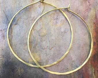 Classic Hammered Hoop Earrings, Thin Hoop Earrings, Large Hoop Earrings, Gold Hoop Earrings, Silver Hoop Earrings, Small Hoop Earrings, Hoop
