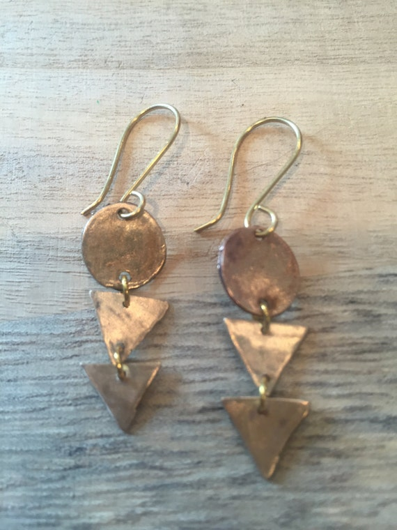 Triangles Earrings