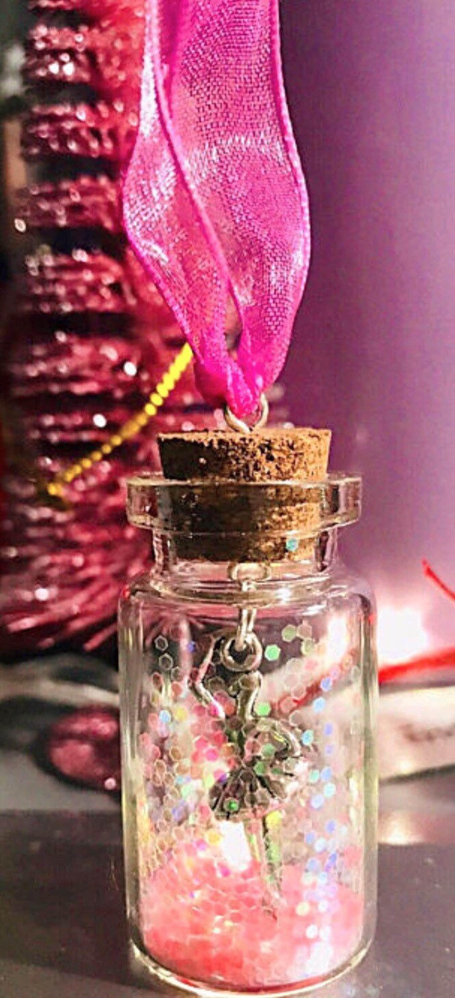 ballerina sparkle decoration girls gift pink magical christmas tree hanging decoration sparkle ballet gift festive ballet dancer