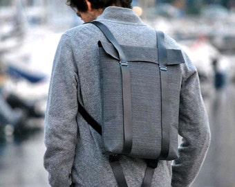 Anti theft backpack Lightweight backpack, canvas knapsack, work backpack, men canvas backpack, mens rucksack, Custom rucksack 201