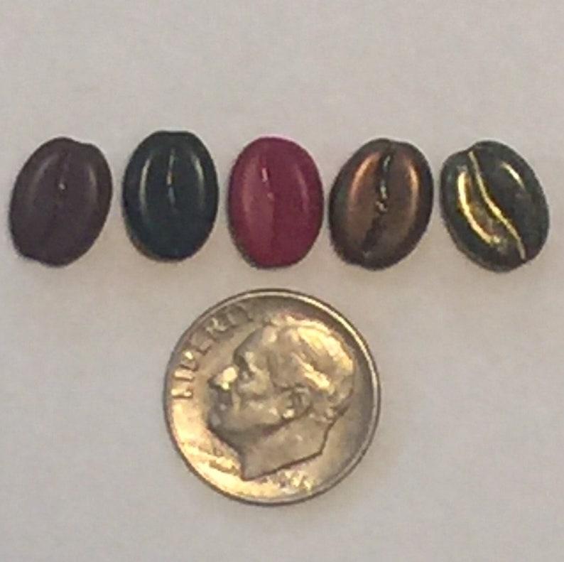 Coffee Bean Pod Pendant