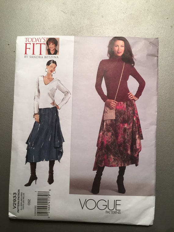 Blouse Today/'s Fit by Sandra Betzina Vogue Sewing Pattern 7903